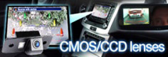 CMOS and CCD Audi reverse parking cameras